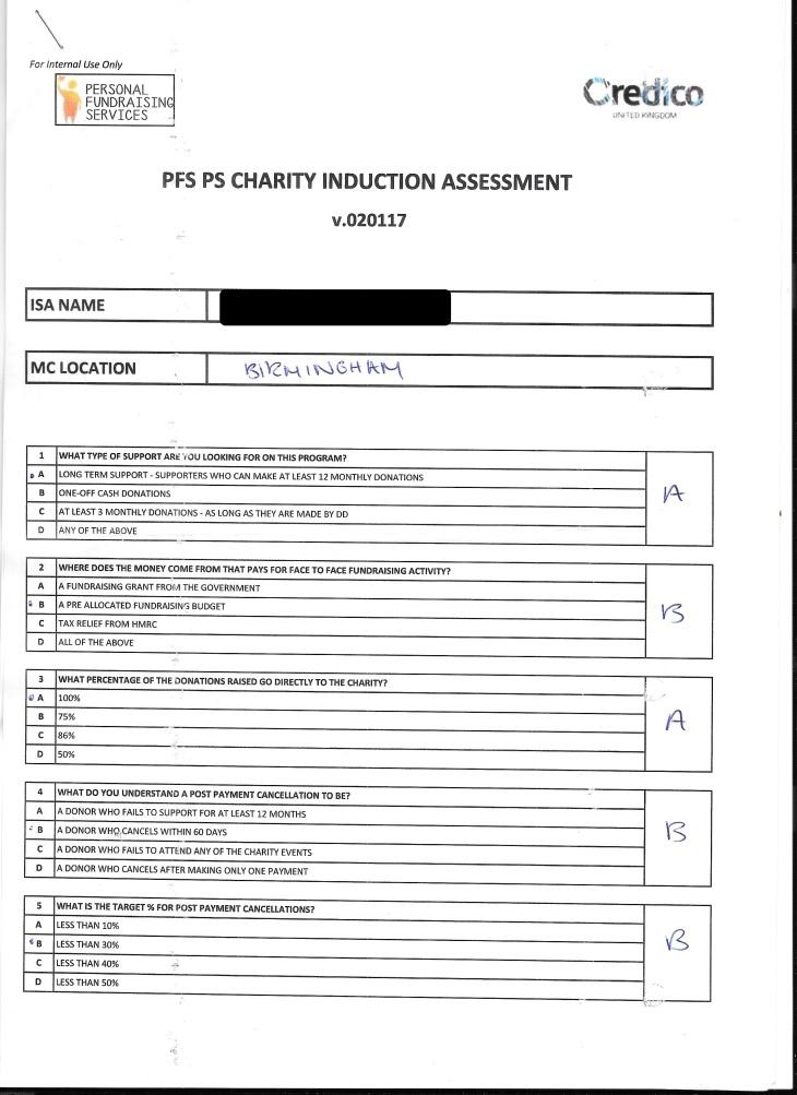 PS Assessement 2