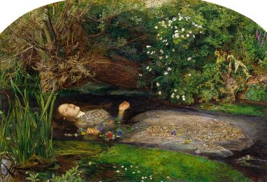 Ophelia (1851-1852) by John Everett Millais