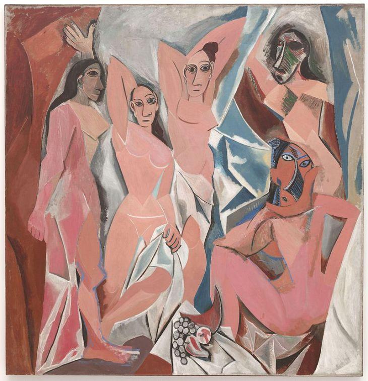 Pablo Picasso's Les Demoiselles D'Avignon