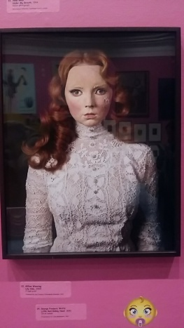 Too Cute! Exhibition featured portrait of Gillian Wearing's Lily Cole (2009), depicting the actress and model wearing a mask of herself